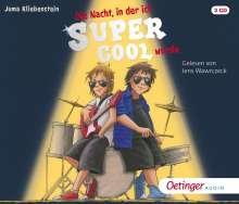 Die Nacht,in der ich supercool wurde, 3 CDs