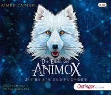 Die Erben der Animox 1.Die Beute des Fuchses., 4 CDs