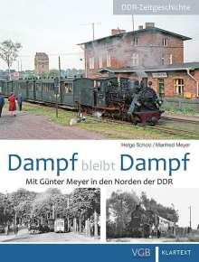 Helge Scholz: Dampf bleibt Dampf 2, Buch