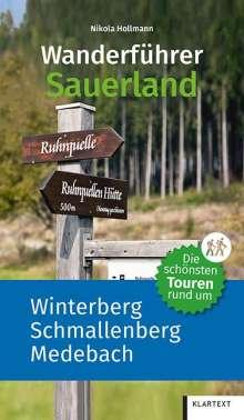 Nikola Hollmann: Wanderführer Sauerland 1, Buch