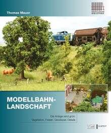 Thomas Mauer: Modellbahn-Landschaft, Buch