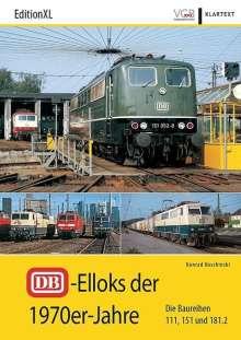 Konrad Koschinski: DB-Elloks in den 1970er-Jahren, Buch