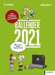 Ballender 2021, Kalender
