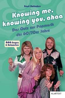 Ernst Hofacker: Knowing me, knowing you, ahaa, Buch