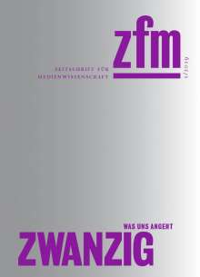 Zeitschrift für Medienwissenschaft 20, Buch