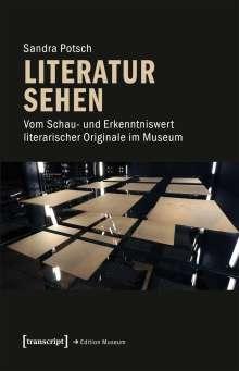 Sandra Potsch: Literatur sehen, Buch