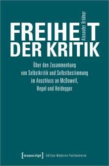 Alexander Brödner: Freiheit der Kritik, Buch