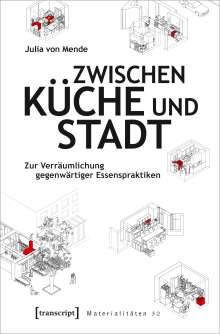 Julia von Mende: Zwischen Küche und Stadt, Buch