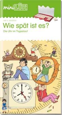 Heiner Müller: miniLÜK. Wie spät ist es?: Die Uhr im Tageslauf, Buch