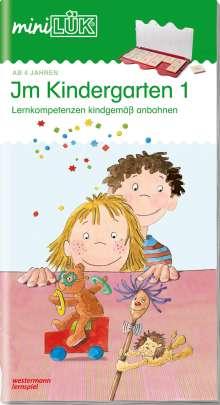 Michael Junga: miniLÜK. Im Kindergarten 1, Buch