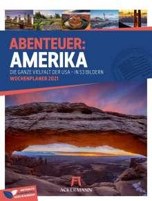 Amerika - Wochenplaner 2021, Kalender