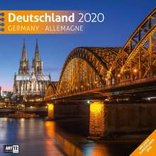 Deutschland 2020 Broschürenkalender, Diverse