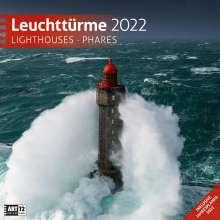 Leuchttürme 2022 Broschürenkalender, Kalender