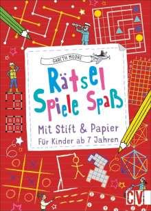 Gareth Moore: Rätsel-Spiele-Spaß, Buch