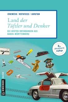 Andrea Jenewein: Land der Tüftler und Denker, Buch