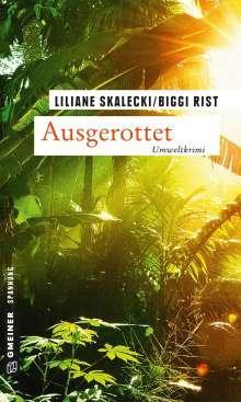 Liliane Skalecki: Ausgerottet, Buch