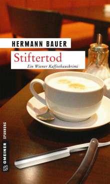 Hermann Bauer: Stiftertod, Buch