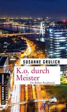Susanne Grulich: K.O. durch Meister, Buch