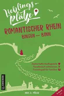 Anke D. Müller: Lieblingsplätze Romantischer Rhein Bingen-Bonn, Buch