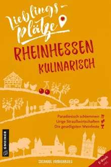 Susanne Kronenberg: Lieblingsplätze Rheinhessen kulinarisch, Buch