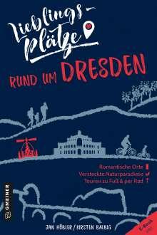 Jan Hübler: Lieblingsplätze rund um Dresden, Buch