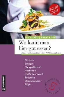 Erich Schütz: Wo kann man hier gut essen?, Buch