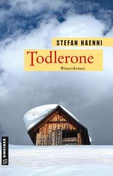 Stefan Haenni: Todlerone, Buch