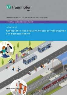 Alina Steindl: Konzept für einen digitalen Prozess zur Organisation von Busnotverkehren., Buch