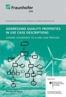 Sebastian Hanna: Addressing Quality Properties in Use Case Descriptions, Buch