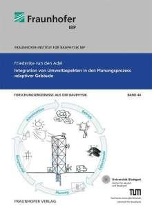 Friederike van den Adel: Integration von Umweltaspekten in den Planungsprozess adaptiver Gebäude., Buch