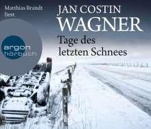 Jan Costin Wagner: Tage des letzten Schnees, 5 CDs