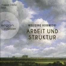 Wolfgang Herrndorf (1965-2013): Arbeit und Struktur, 8 CDs