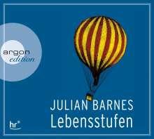 Julian Barnes: Lebensstufen, 3 CDs