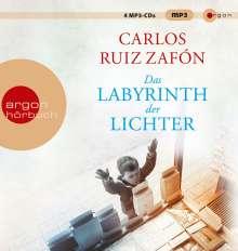 Carlos Ruiz Zafón: Das Labyrinth der Lichter, 4 MP3-CDs