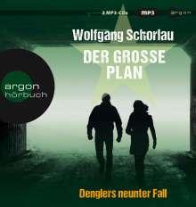 Wolfgang Schorlau: Der große Plan, 2 CDs