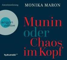Monika Maron: Munin oder Chaos im Kopf, 4 CDs