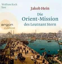 Jakob Hein: Die Orient-Mission des Leutnant Stern, 4 CDs