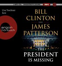 The President is Missing, 2 MP3-CDs