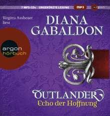 Diana Gabaldon: Outlander - Echo der Hoffnung, 9 CDs