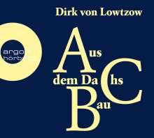 Dirk Von Lowtzow: Aus dem Dachsbau, 3 CDs