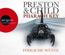 Douglas Preston: Pharaoh Key - Tödliche Wüste, 6 CDs
