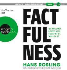 Hans Rosling: Factfulness, MP3-CD