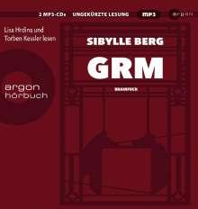 Sibylle Berg: GRM, 2 CDs