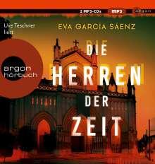 Eva García Sáenz: Die Herren der Zeit, 2 MP3-CDs