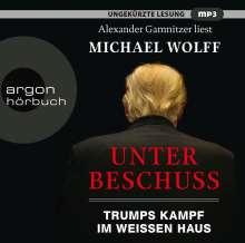 Michael Wolff: Unter Beschuss, 2 MP3-CDs