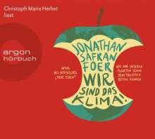 Jonathan Safran Foer: Wir sind das Klima!, 5 CDs