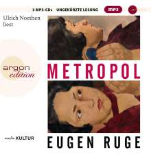 Eugen Ruge: Metropol, MP3-CD