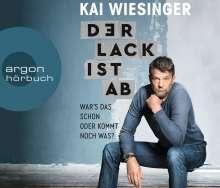 Kai Wiesinger: Der Lack ist ab, 3 CDs