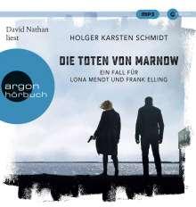 Holger Karsten Schmidt: Die Toten von Marnow, 2 MP3-CDs