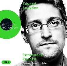 Edward Snowden: Permanent Record, 2 MP3-CDs